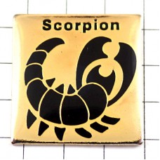 ピンズ・スコーピオン星占い蠍座さそり座