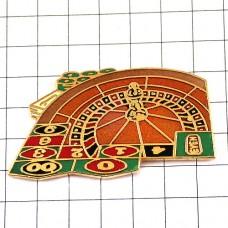 ピンズ・ルーレット賭けの台カジノ賭博