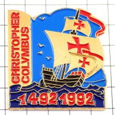 ピンズ・コロンブスの帆船ボート大航海時代