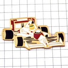 ピンバッジ・アイルトンセナF1ホンダ車