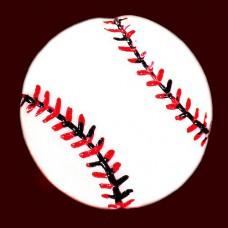 ピンズ・New!白球ベースボール野球のボール赤い糸