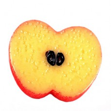 ピンズ・New!リンゴ林檎りんごの断面アップル果物