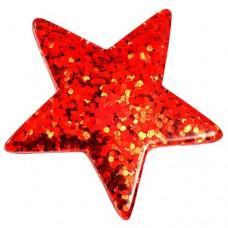 ピンズ・New!スター星型レッド赤色