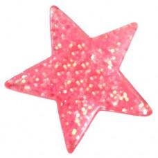 ピンズ・New!スター星型ピンク色
