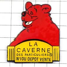 ピンズ・赤いくま熊