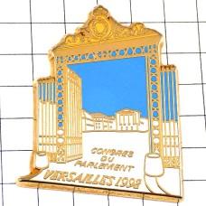 ピンバッジ・ヴェルサイユ宮殿ベルサイユ門
