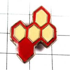 ピンズ・六角形の蜂の巣ミツバチ蜜蜂