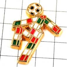 ピンズ・イタリアサッカー球ワールドカップ大会チャオ国旗