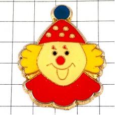 ピンズ・水玉帽子のピエロ道化師サーカスの人気者