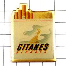 ピンバッジ・フラメンコダンサー煙草ジタン踊り子タバコの箱
