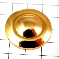 ピンズ・金色ゴールド丸型香水壜