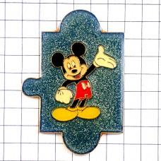 ピンズ・ミッキーマウスのパズルのピース一個ディズニー