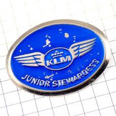 ブローチ・KLMオランダ航空スチュワーデスの卵