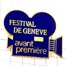 ブローチ・ジュネーブ映画祭カメラ撮影機器