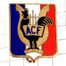 ブローチ・雄鶏ニワトリ鳥フランス軍ミリタリー紋章