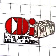 ピンズ・古紙のリサイクル仕事