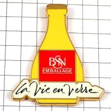 ピンズ・ジュースや飲み物の黄色い瓶