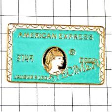 ピンズ・アメックスのクレジットカード型
