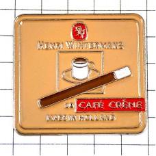ピンバッジ・タバコ煙草ヘンリーウィンターマンズ珈琲コーヒー味
