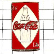 ピンバッジ・コカコーラ白いボトル瓶