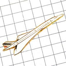 ピンバッジ・コンコルド音速の飛行機エールフランス航空