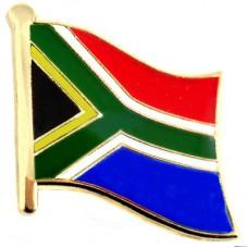 ピンズ・New!南アフリカ共和国の国旗レインボーフラッグ虹色デラックス薄型キャッチ付き