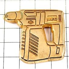 ピンズ・金色ゴールドの電動ドライバー工具