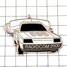 ピンズ・自動車の電話ボンネットのプッシュボタン白