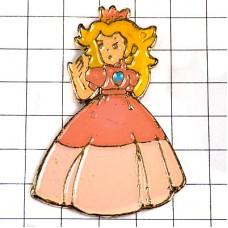 ピンバッジ・マリオ任天堂ピーチ姫ゲームのキャラクター