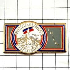 ピンズ・フランスのマルシェ市場トリコロール青白赤