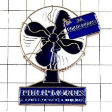 ピンバッジ・扇風機フィリップモリス煙草