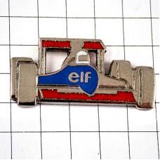 ピンバッジ・エルフ石油ルノーF1レースの車