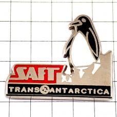 ピンバッジ・ペンギン一頭トランスアンタークティカ電池