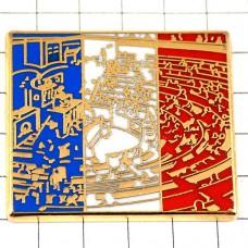 ピンズ・フランス国民議会ブルボン宮殿トリコロール国旗色