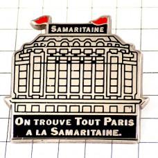 ピンバッジ・サマリテーヌ百貨店パリ建物