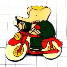 ピンズ・ぞうのババール象バイク二輪