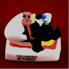 フェブ・カリメロ漫画サングラスでバカンス寝そべる