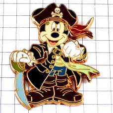 ピンズ・ミッキーマウスの海賊ディズニードクロ印の帽子