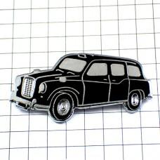 ピンズ・イギリスの黒いタクシー英国ロンドン車