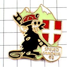 ピンズ・黒いネズミねずみの工事サヴォア紋章