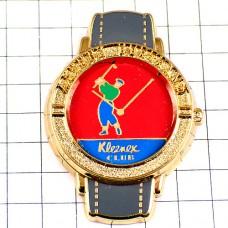 ピンズ・腕時計ゴルフ大会クリネックス社スポンサー