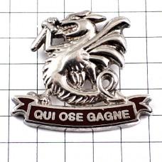 剣とドラゴン銀色パラシュート第2海兵歩兵落下傘連隊ミリタリーフランス軍