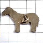 ピンバッジ・シマウマ縞馬一頭