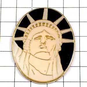 ピンバッジ・自由の女神アメリカNYニューヨーク/USA