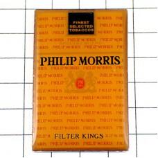 ピンバッジ・フィリップモリス煙草タバコの箱