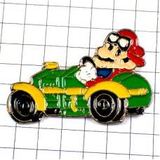 ピンバッジ・スーパーマリオ任天堂マリオカート緑の車