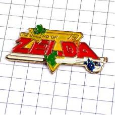 ピンバッジ・ゼルダの伝説ZELDA任天堂ゲーム剣