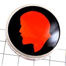 ブローチ・レーニン肖像ソ連アルミニウム製ロシア