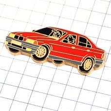ピンズ・BMWビーエム赤い車