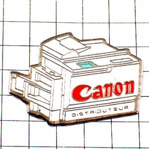 ピンバッジ・キャノン印刷コピー機